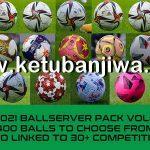 PES 2021 Ball Server Pack v7 AIO