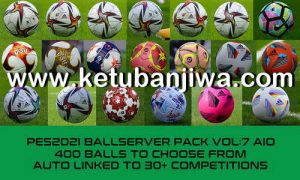 eFootball PES 2021 BallServer Pack v7 AIO by Hawke Ketuban Jiwa