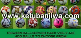 PES 2021 Ball Server Pack v7 AIO