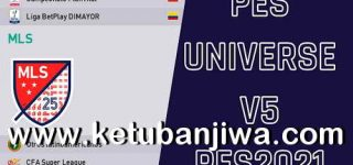 eFootball PES 2021 PES Universe Option File v5.0 All In On For PC + PS4 + PS5 Ketuban Jiwa
