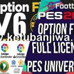 eFootball PES 2021 PES Universe Option File 6.0 AIO
