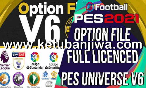 eFootball PES 2021 PES Universe Option File 6.0 AIO