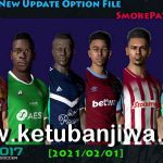 PES 2017 All Winter Transfer 01 February 2021 For Smoke Patch
