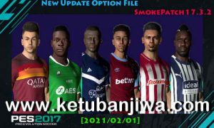 PES 2017 Option File All Winter Transfer 01 February 2021 For Smoke Patch 17.3.2 by EsLaM Ketuban Jiwa