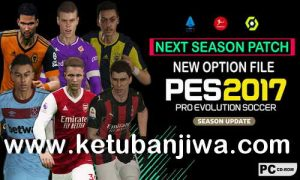 PES 2017 Option File All Winter Transfer Update 01 February 2021 For Next Season Patch Ketuban Jiwa
