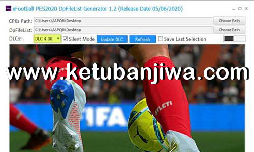 PES 2021 DpFileList Generator Tools 1.0 For DLC 4.0 by MjTs-140914 Ketuban Jiwa