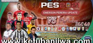 PES 2021 Emerson Pereira Option File v5 AIO For PC + PS4 + PS5