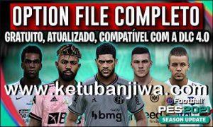 PES 2021 PesVicioBR Option File v6 AIO DLC 4.0 For PC + PS4 + PS5 Ketuban Jiwa