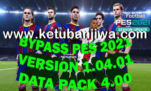 Tutorial How to Play Offline PES 2021 With Crack Bypass 1.04.01 Ketuban Jiwa