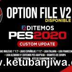PES 2020 PS4 Editemos Option File v2 AIO Season 2021