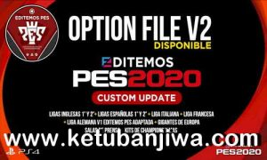 eFootball PES 2020 Editemos Option File v2 AIO Season 2021 For PS4 Ketuban Jiwa