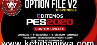 PES 2020 PS4 Editemos Option File v2 AIO Season 2021