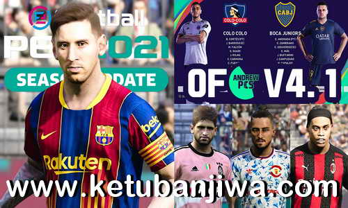 eFootball PES 2021 AndrewPES Option File v4.1 AIO Compatible DLC 4.0 For PS4 Ketuban Jiwa