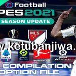 PES 2021 Compilation Option File AIO DLC 4.0 Update 16/02/2021