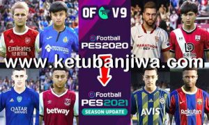 eFootball PES 2020 AndrewPES Option File Mix v9 AIO For PS4 Ketuban Jiwa