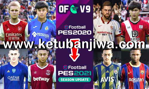 PES 2020 PS4 AndrewPES Option File Mix v9 AIO