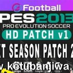 PES 2013 HD Patch v1 AIO Season 2021