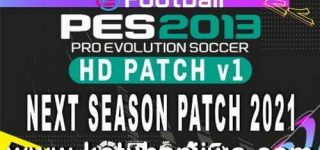 PES 2013 HD Patch v1 AIO Season 2021