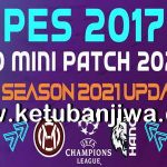 PES 2017 Hano Patch 6.1 Update Next Season 2021
