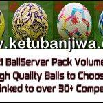 PES 2021 Ball Server Pack Vol.12 AIO