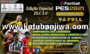 PES 2021 Emerson Pereira Option File v6 AIO Compatible DLC 5.0 For PC + PS4 + PS5 Ketuban Jiwa