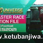 PES 2021 PESUniverse Master Race Patch 1.00 DLC 5.0