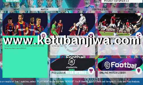 PES 2021 PS3 Custom Patch AIO Winter Transfer + Liga 1 Shopee Ketuban Jiwa