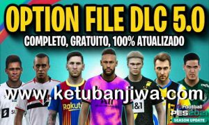 PES 2021 PesVicioBR + PESUnites Option File v7 AIO Compatible DLC 5.0 For PC + PS4 + PS5 Ketuban Jiwa