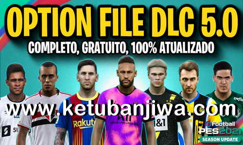 PES 2021 PesVicioBR + PESUnites Option File v7 AIO DLC 5.0