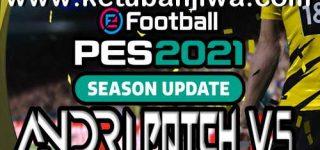 PES 2021 Andri Patch v5 AIO Compatible DLC 5.0