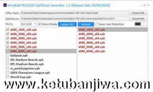 PES 2021 DpFileList Generator 1.0 For DLC 6.0 by MjTs-140914 Ketuban Jiwa