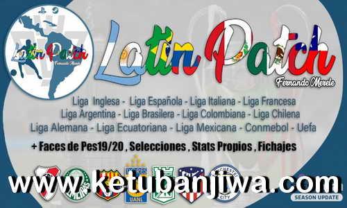eFootball PES 2021 Latin Patch AIO Season 2021-2022 For PC Ktuban Jiwa