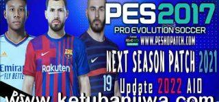 PES 2017 Next Season Patch 2021 Update 2022 AIO