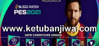 PES 2021 PS2 Blezz Patch ISO File