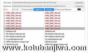 eFootball PES 2021 DpFileList Generator 1.0 For DLC 7.0 by MjTs-140914 Ketuban Jiwa