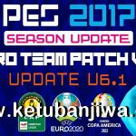 PES 2017 Pro Team Patch 6.1 Update Season 2022