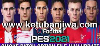 PES 2021 Option File 28 July 2021 For Smoke Patch 21.3.6