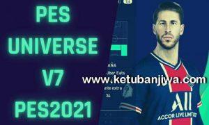 eFootball PES 2021 PES Universe Option File v7.0 AIO Compaible DLC 7.0 For PC + PS4 + PS5 Ketuban Jiwa