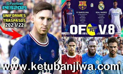 PES 2021 AndrewPES Option File v8 AIO Season 2022 For PC + PS4 + PS5 Ketuban Jiwa