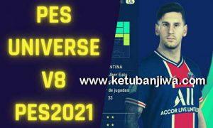 eFootball PES 2021 PESUniverse Option File v8.0 AIO For PC + PS4 + PS5 Ketuban Jiwa