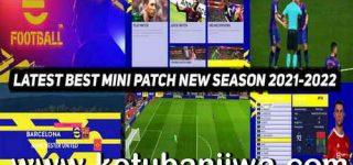 PES 2017 Black Edition Mini Patch AIO Season 2022