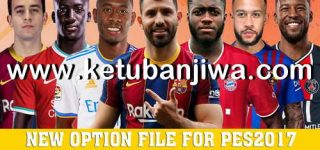 PES 2017 Final Option File Full Summer Transfer For Smoke Patch