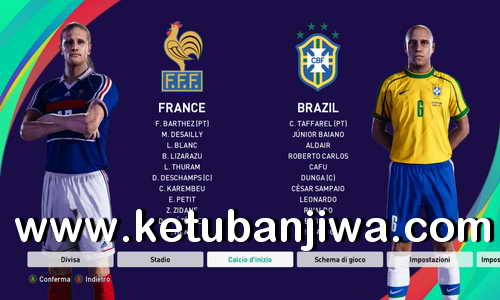 PES 2020 + PES 2021 FIFA World Cup 1998 Option File