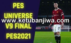 eFootball PES 2021 PES Universe Option File 9.0 AIO Final Season 2022 For PC + PS4 + PS5 Ketuban Jiwa