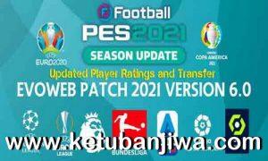 PES 2021 Option File Updated Ratings + Transfer 04 October 2021 For EvoWeb Patch 6.0 Ketuban Jiwa